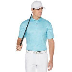 Grand Slam On Course Tropical Print Golf Polo, XL